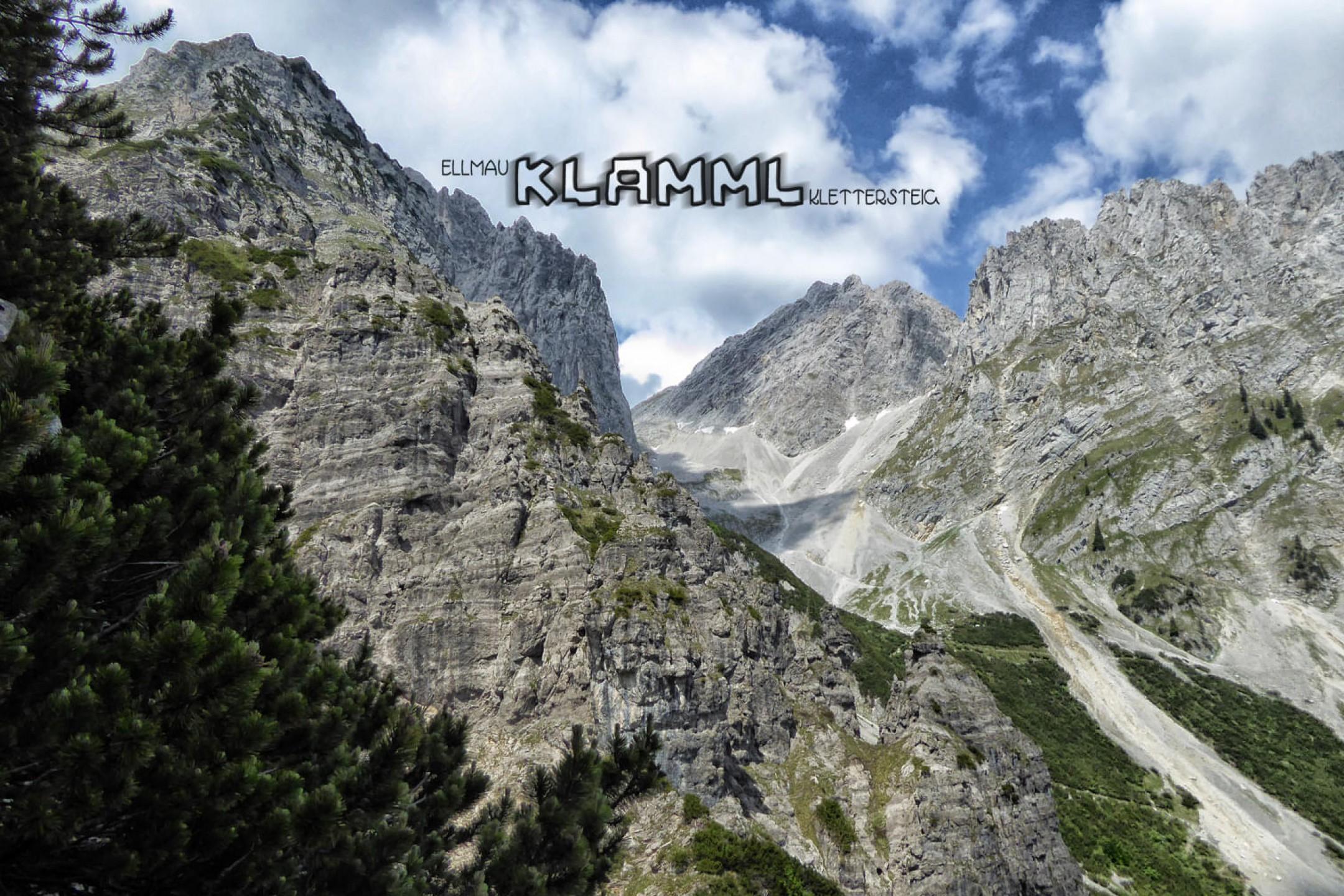 Klettersteig Klamml : Klamml steig wilder kaiser
